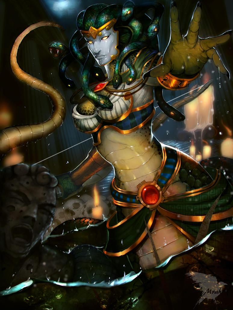 Smite Medusa by Mrahart