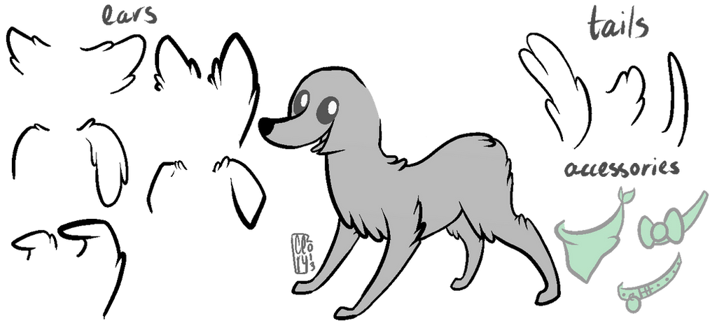 MLPFiM Dog Base By Noewhit On DeviantArt