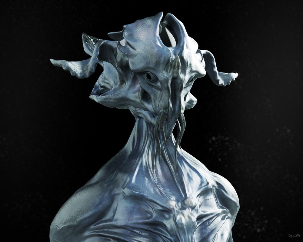 Alien concept sketch by blazs91