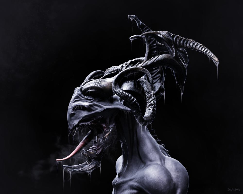 The eyeless forsaken - Demon Concept by blazs91