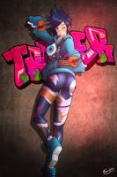 Tracer (Graffiti) by Frenxir