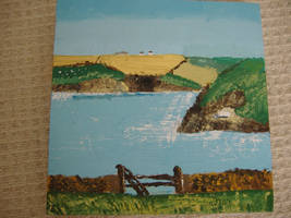 painting of cornwall