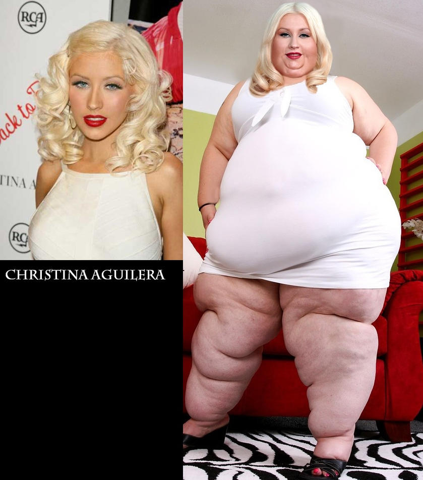 SSBBW Christina Aguilera by Caffeine-Cycle