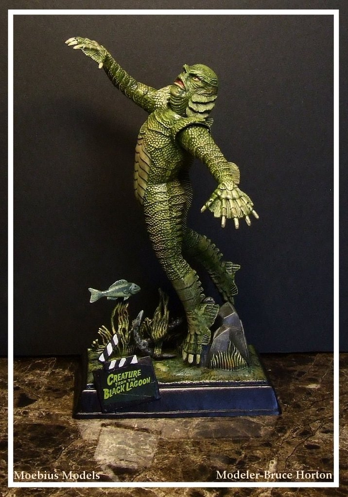 CREATURE FROM THE BLACK LAGOON by artdawg1x