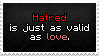 Hatred = Love by ExplosiveSquid