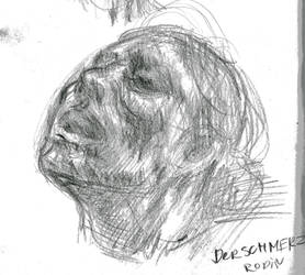 Rodin master study doodle by grind-the-rust