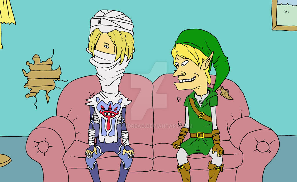 Legend Of Beavis And Butthead By Nappydread On Deviantart-6139