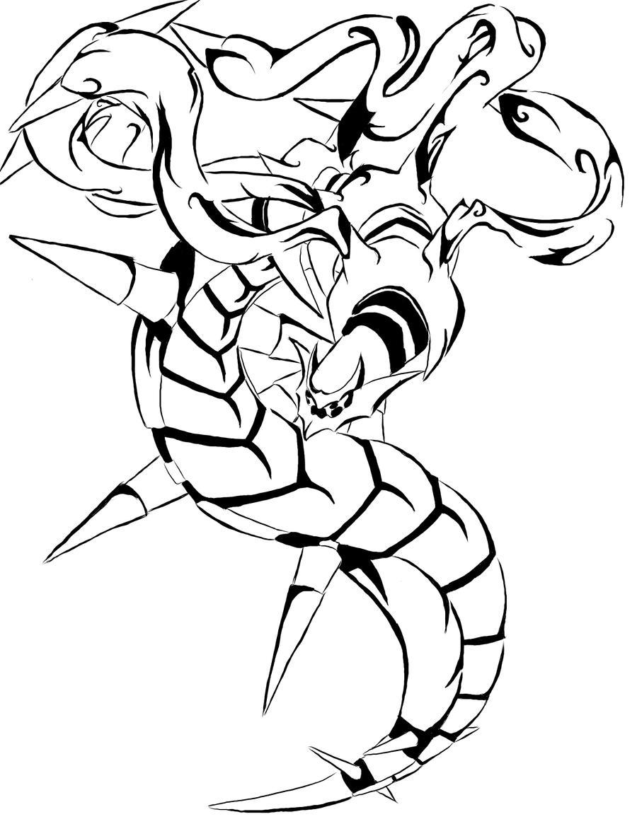 Giratina Tribal Tattoo by tei-tenshi