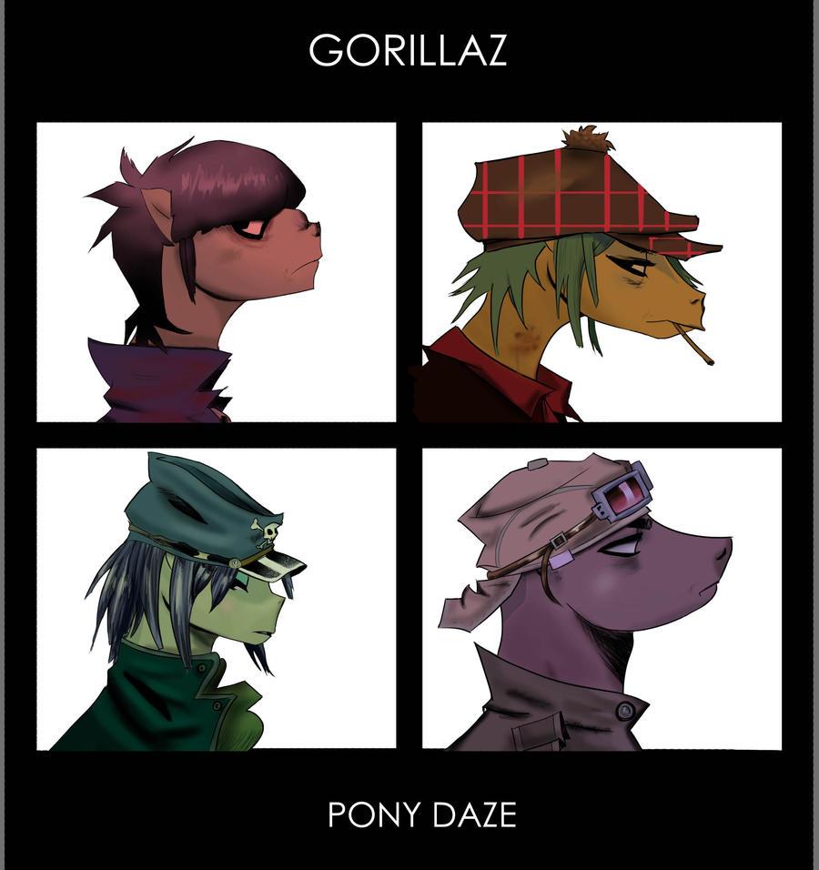 Czeshop Images Gorillaz Demon Days Wallpaper