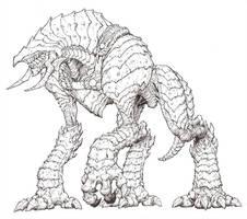 Creature by peetcooper