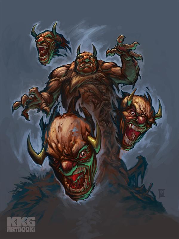 Altered beast 1st boss aggar by peetcooper on deviantart for Altered beast