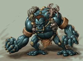 Bone Orc by peetcooper