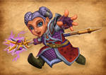 Frostina, Warcraft Gnome Mage