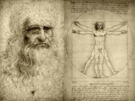 Leonardo Da Vinci by itachimarrano92