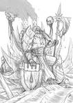 40k- Serberus The Immortal [Sketch]