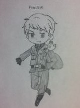 Hetalia: Chibi Prussia Drawing by Trendyhotcandy
