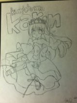 Kamichama Karin Cover Sketch by Trendyhotcandy