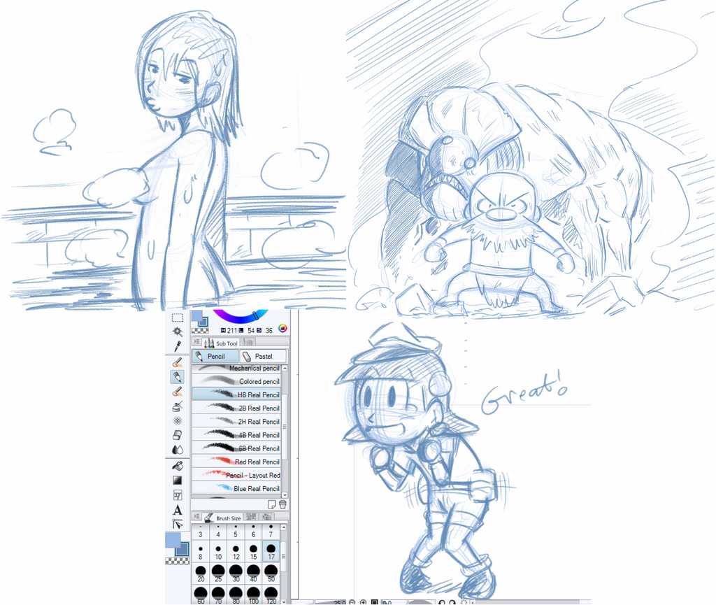 Doodle Sketch 93 by NiNoZaP0