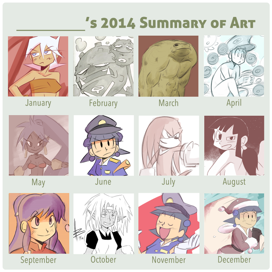 2014 Summary by NiNoZaP0