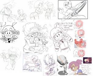 Doodle Sketch 301 by NiNoZaP0
