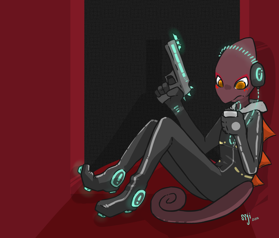 Flynn Harvey, Space Chameleon By CannotGrasp On DeviantArt
