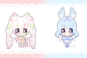 Set Price Fluffian Adopts [2/2] OPEN by Cakiiebun