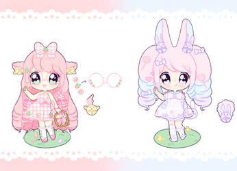 Easter Jinglie Adoptables [2/2] - OPEN by Cakiiebun