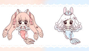 Set Price Mermay Adopts [2/2] OPEN by Cakiiebun