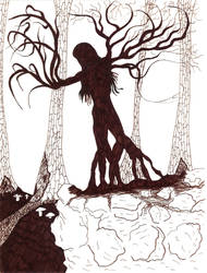 The Dryad Appears by TheEyeOfStone