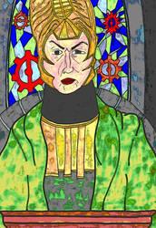Portrait of Father Karras by TheEyeOfStone