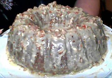 MESSY Bonnet Carrot Cake