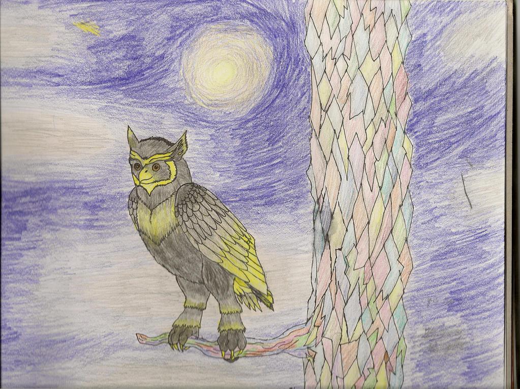 Endymion0 Owl by Kieva