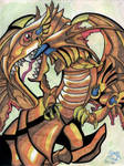 Red Eyes Winged Dragon of Ra