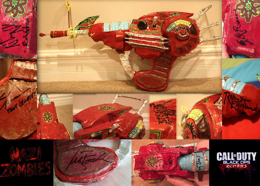 Call Of Duty: Zombies Ray Gun By The-Katherinator On