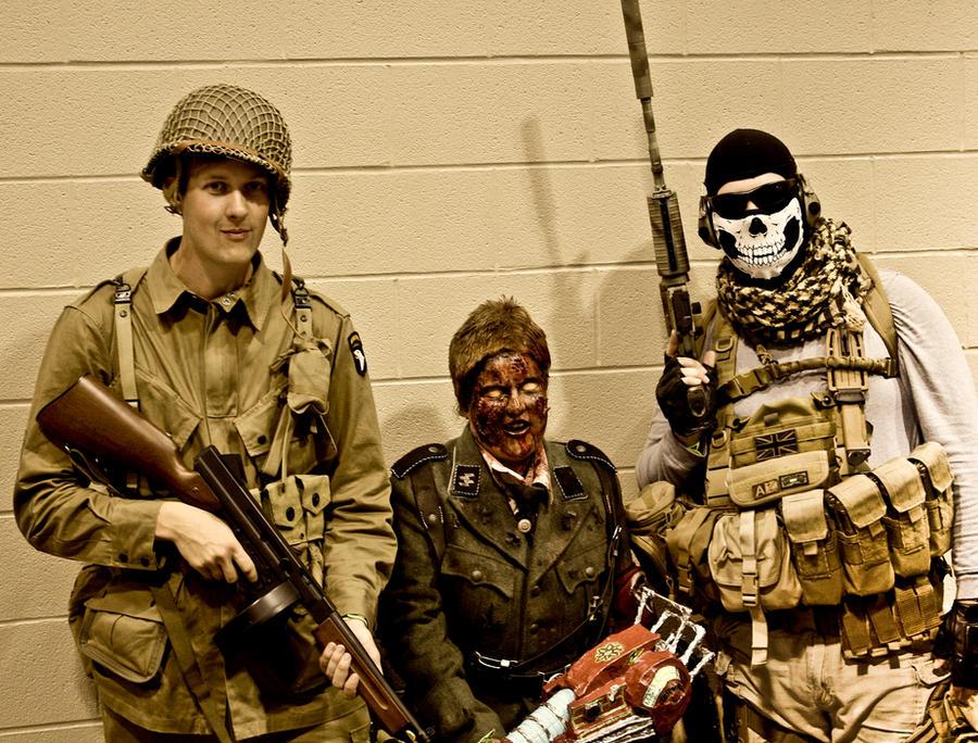 CoD: 'World at War' Meets 'Modern Warfare 2' by The-Katherinator