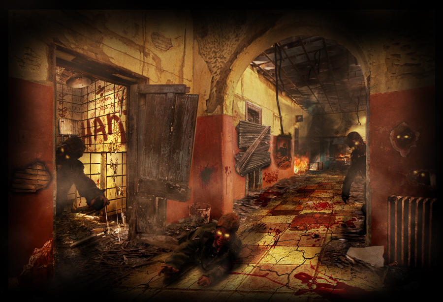 Call Of Duty Zombies Wallpapers: 'Verruckt' Wallpaper By The