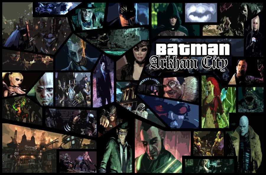 Batman: Arkham City 'GTA' Wallpaper by The-Katherinator