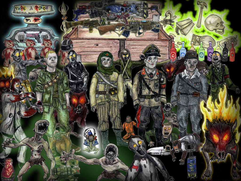 Call Of Dutyzombies Samantha S Room Carpet