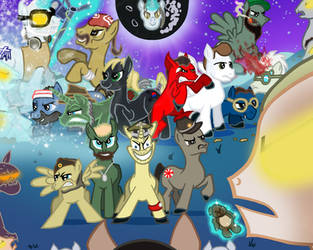 Call of Duty: Zombies casts 'Ponified' by The-Katherinator