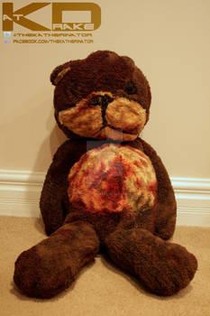 Call of Duty Zombies Teddy Bear replica prop
