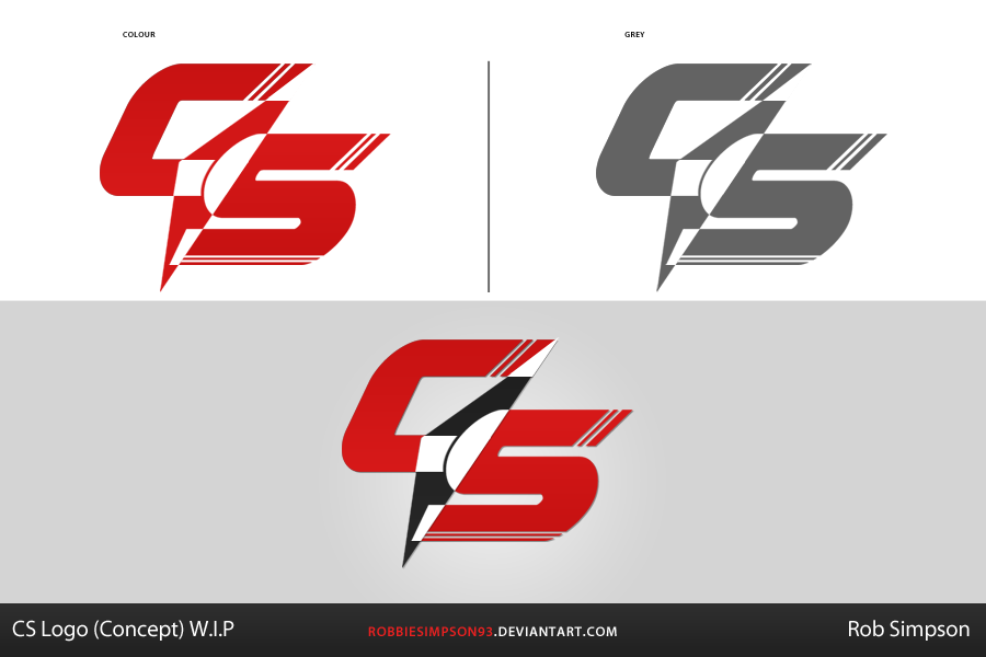 CS Logo Concept by RobbieSimpson93 on DeviantArt: robbiesimpson93.deviantart.com/art/CS-Logo-Concept-356643167