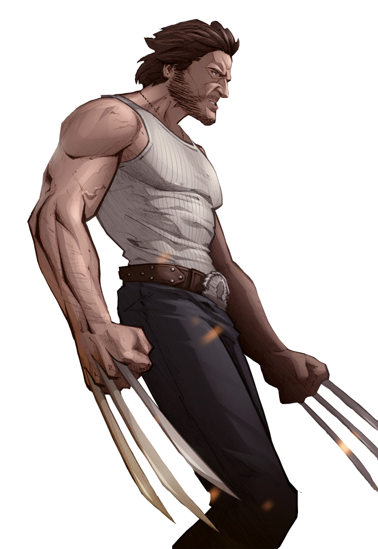 Wolverine render by Stealth14