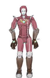 Crimson Rhen as Iron Man
