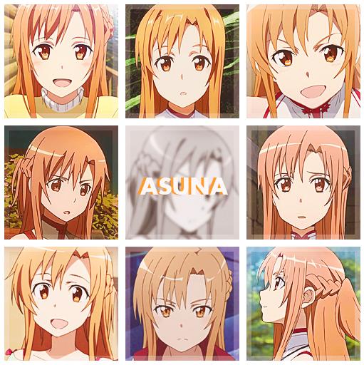 Asuna Yuuki [Character Photoset] by kiirochi