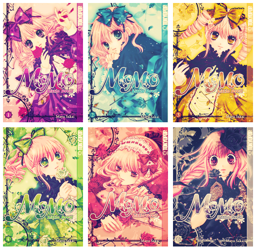 Anime Manga Covers: Momo [Manga Covers] By Kiirochi On DeviantArt