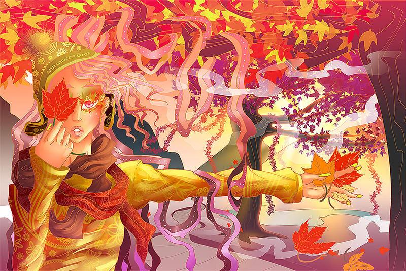 Autumn by Sardae
