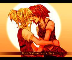 Hot Valentine's Day by KodamaCreative
