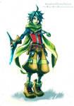 KingdomHearts!Reize - Nomura's style fun by KodamaCreative