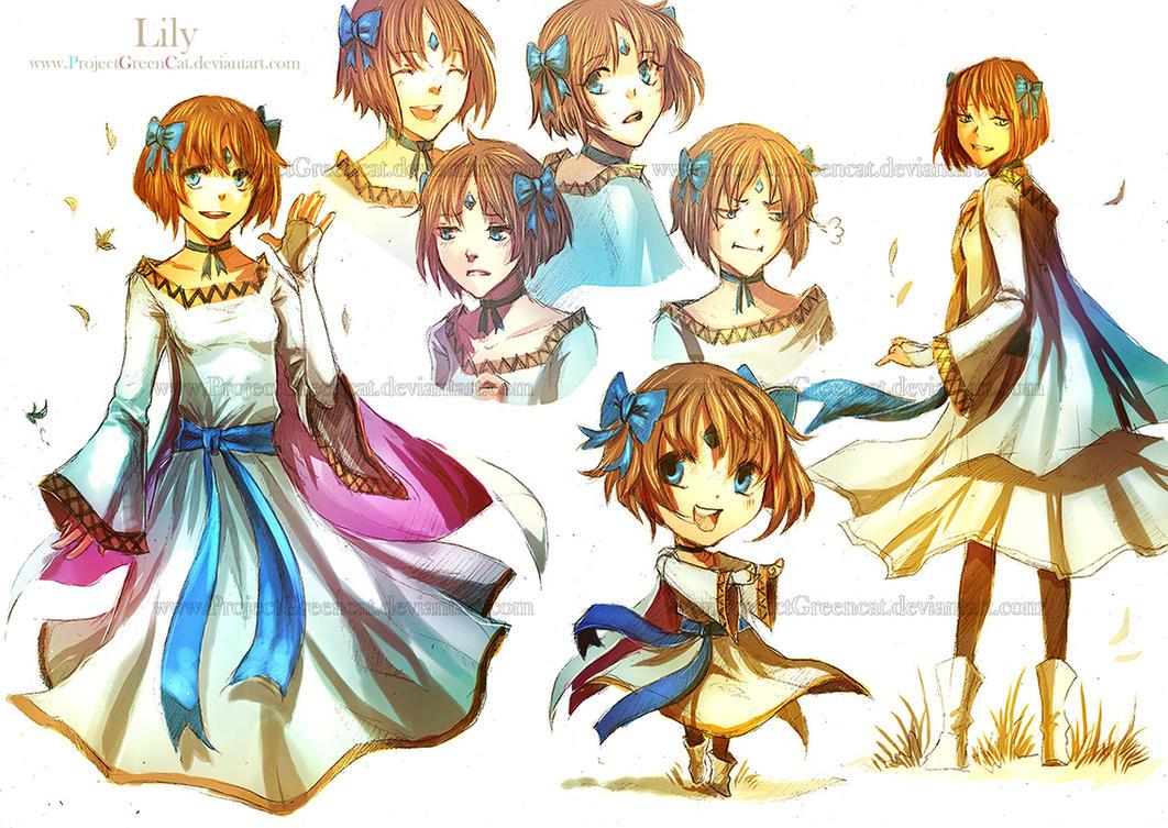 Commission: Lily by KodamaCreative