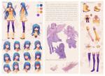 Character Sheet Commission: Luna
